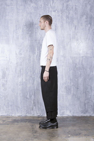 LINK PANT- BLACK SUITING