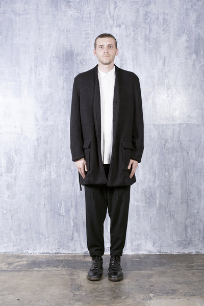ROW CARDIGAN - BLACK