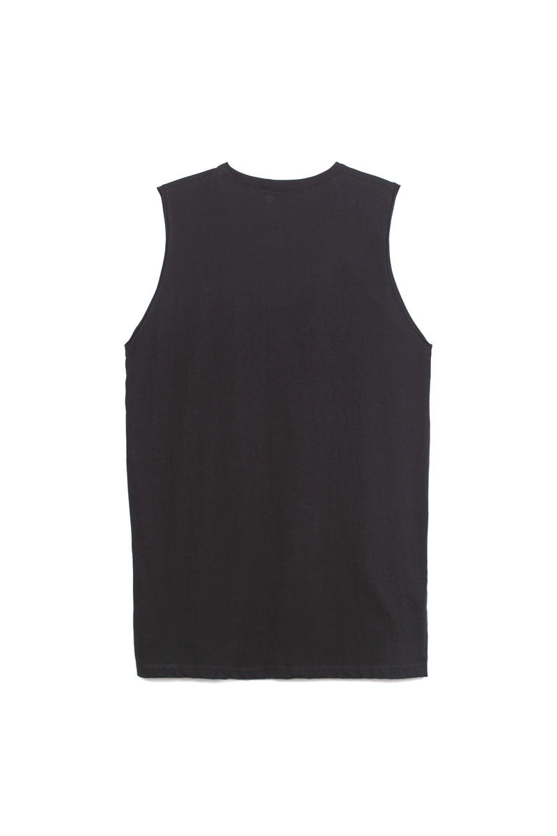 Chapter RO Sleeveless Shirt in Black