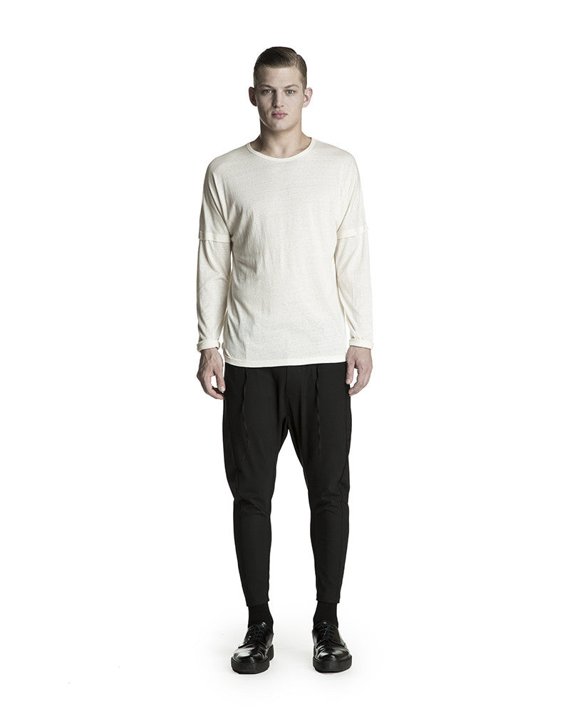 Yaan Long Sleeve T-Shirt - Off White