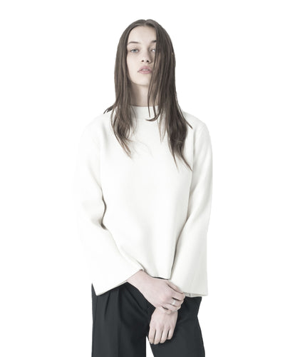 Char Sweater - White