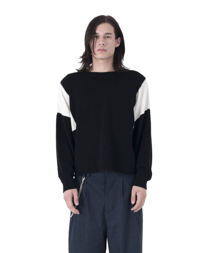 Riv Sweater - Black and White