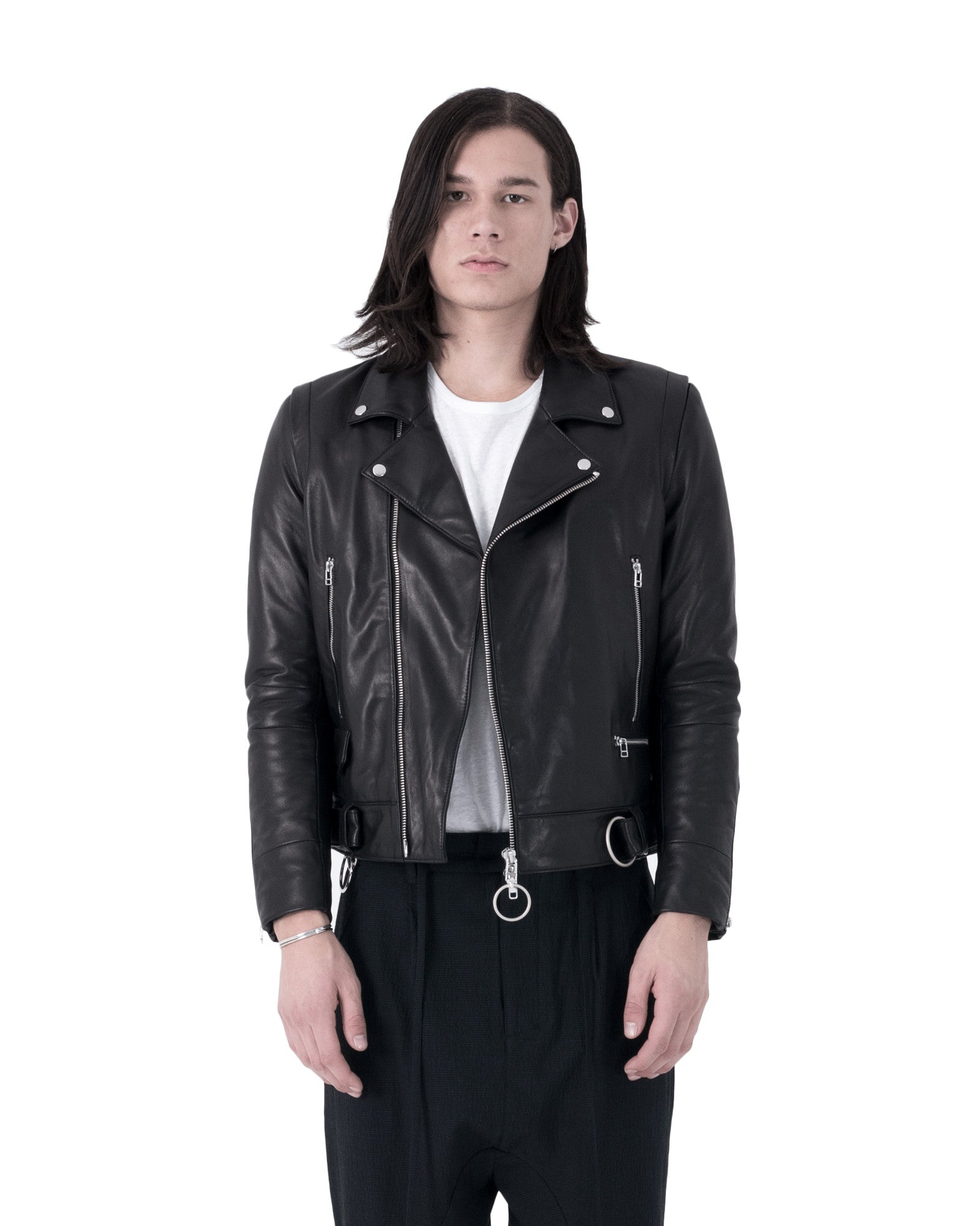 Wil Leather Jacket - Black
