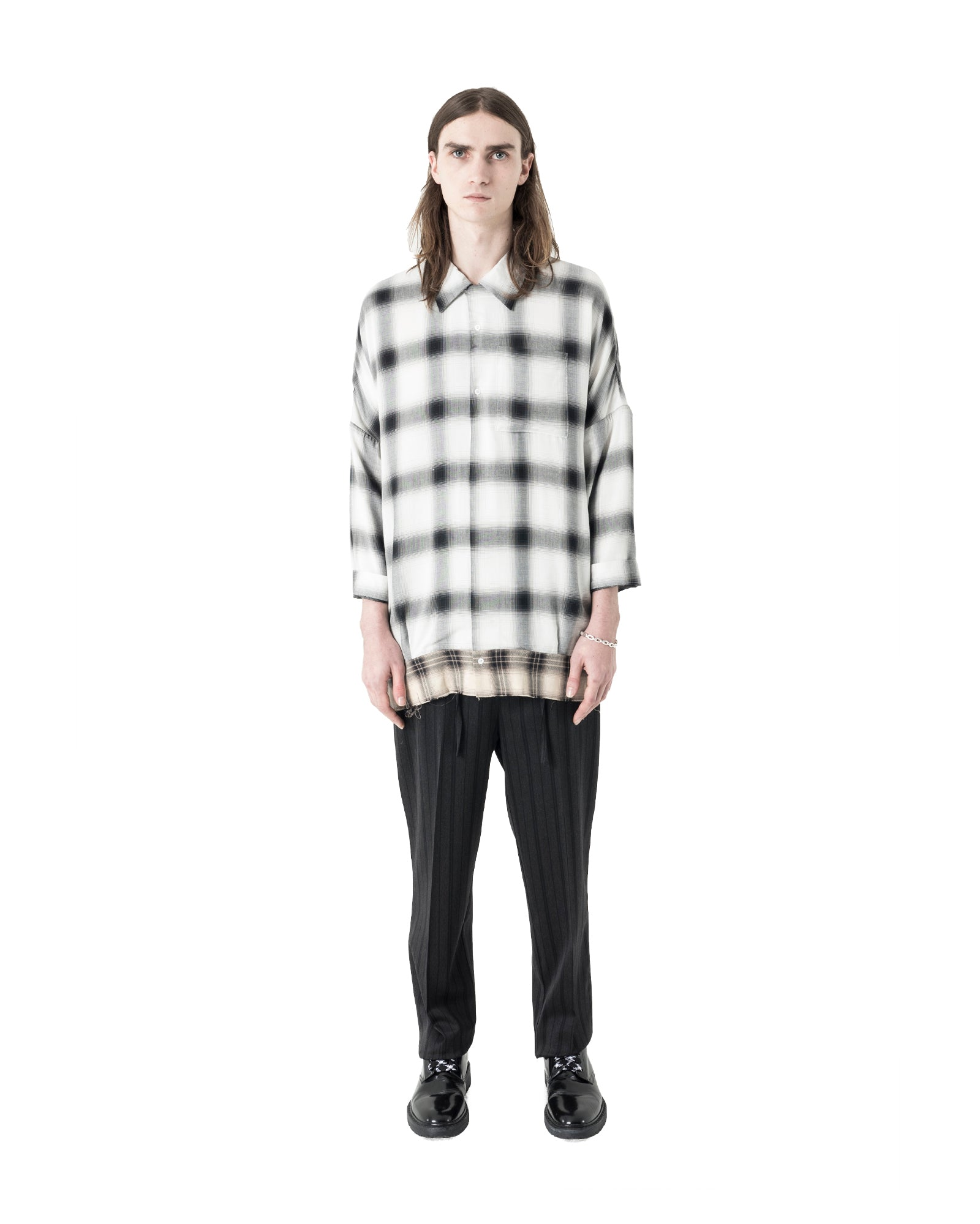 Dun Pant - Charcoal Stripe