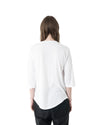 Plaz 3/4 Sleeve T - Shirt - White