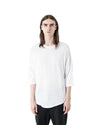 Plaz 3/4 Sleeve T-Shirt - White