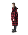 RIA Coat - Red Plaid