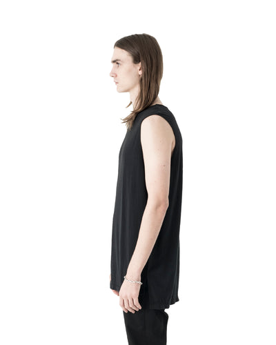 Ro Sleeveless T-Shirt - Black