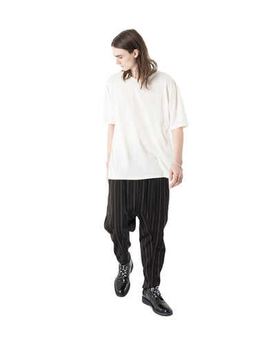 Sutton Trouser - Brown Stripe