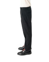 Venic Trouser - Black Micro Check
