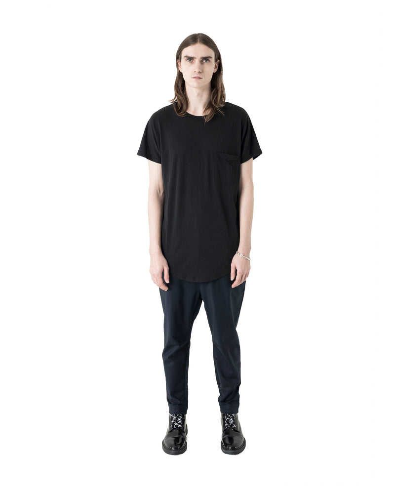 Yuri Pocket T-Shirt - Black