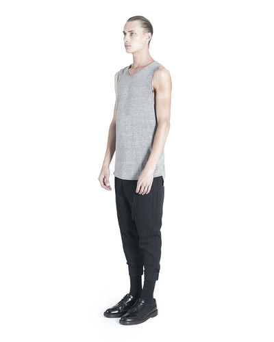 Ro Sleeveless T-Shirt - Heather Grey