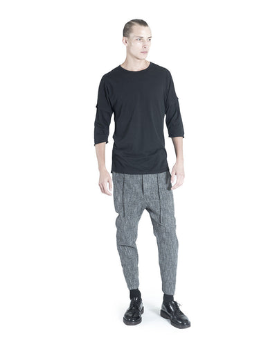 Serr Pant - Black Spec