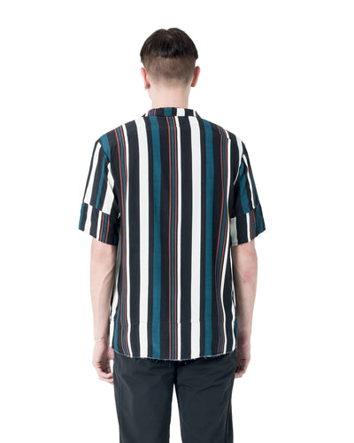 Abra Short Sleeve Shirt - Multi Stripe