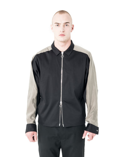 Caro Jacket - Black and Tan