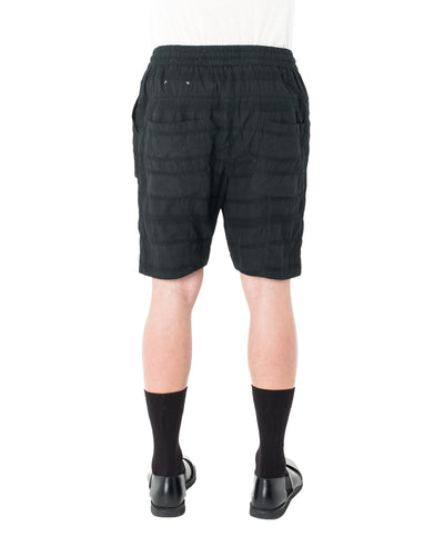 Crate Short - Black Jacquard Stripe