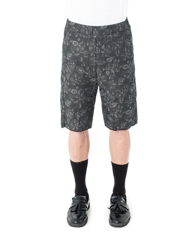 Itle Short - Black Floral