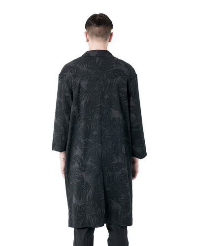 Mach Trench Coat - Palm Print