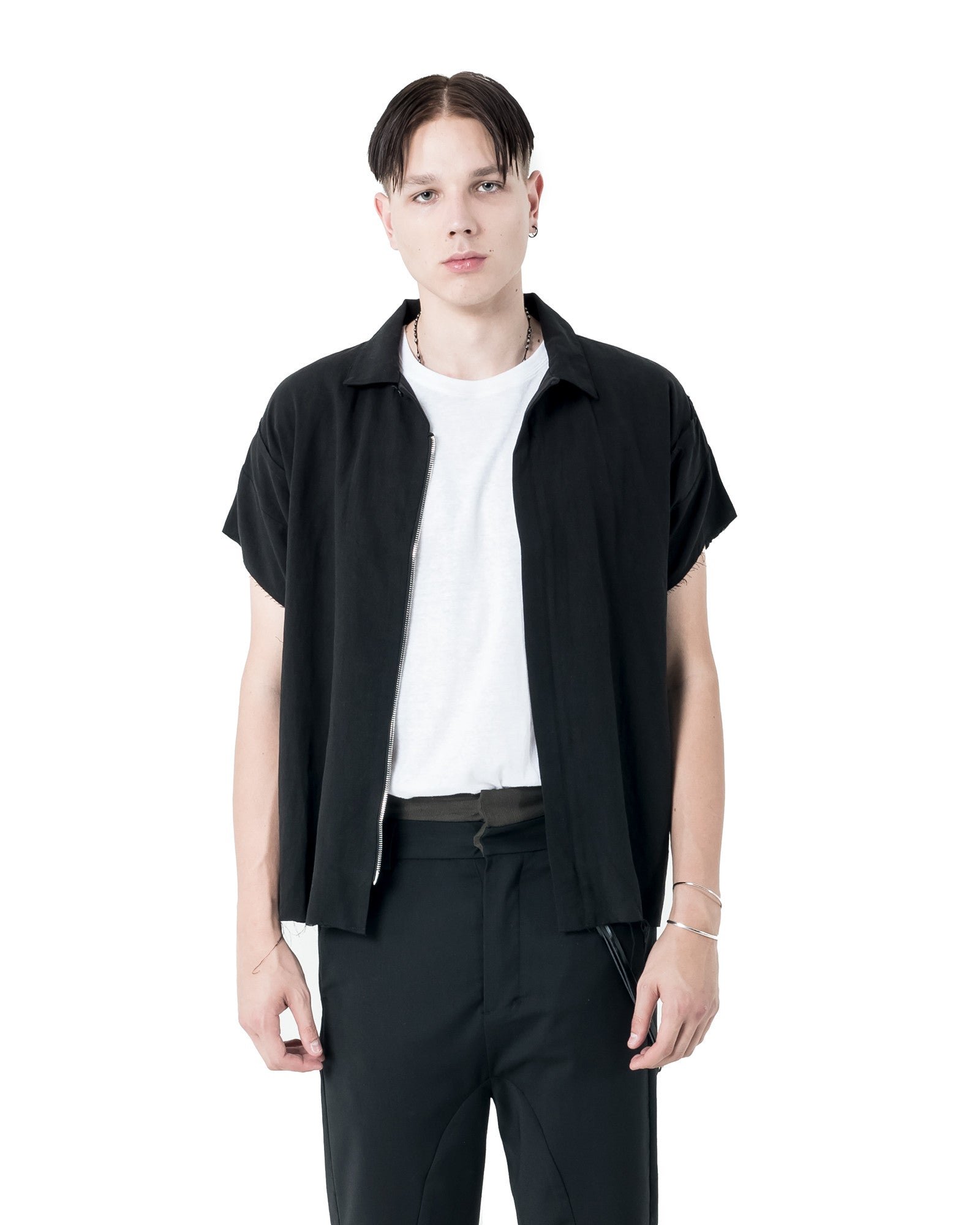 Tybal Short Sleeve Shirt - Black