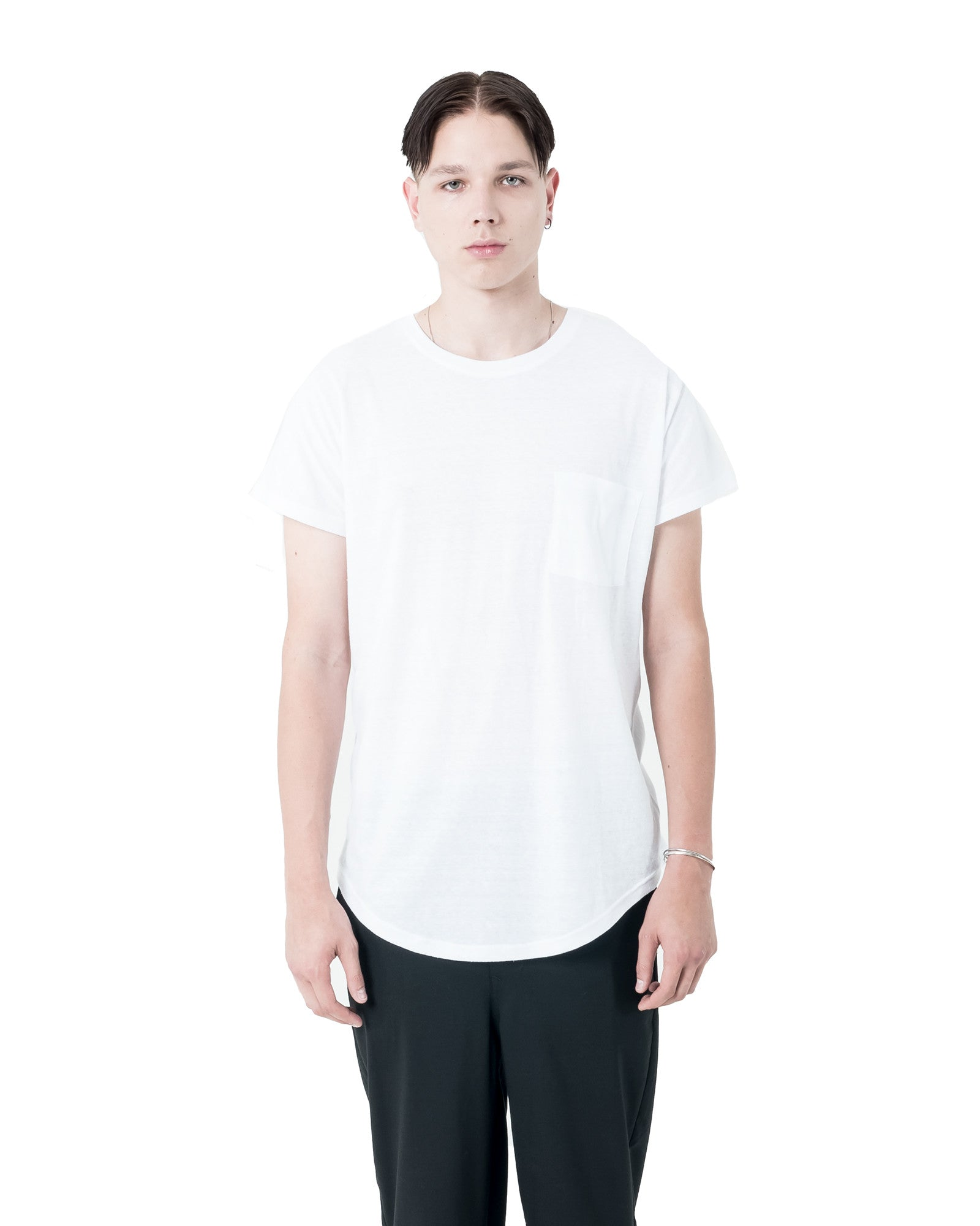 Yuri Pocket T-Shirt - White