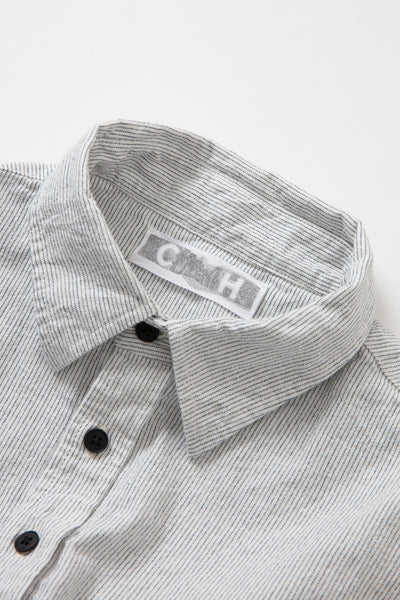 WORK SHIRT WHITE DENIM