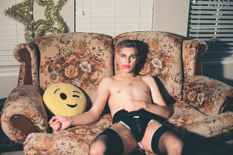 Dallas With Emoji Pillow, 2019, Tyler Udall