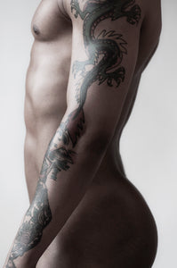 M With A Dragon Tattoo, 2011, Michael Epps
