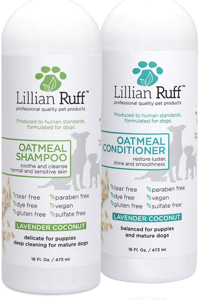 Oatmeal Shampoo and Conditioner Set