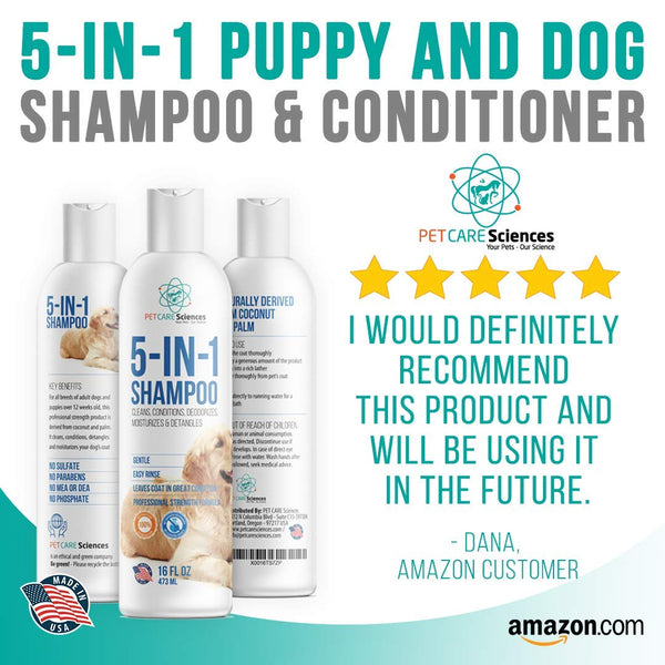 Dog Shampoo with Conditioner