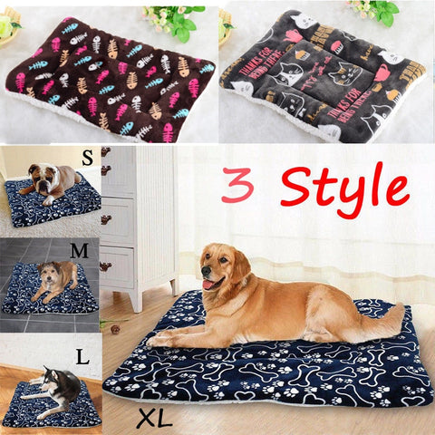Cushion Kennel Dog Mat Blanket