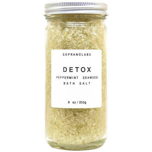 BATH SALT - detox peppermint