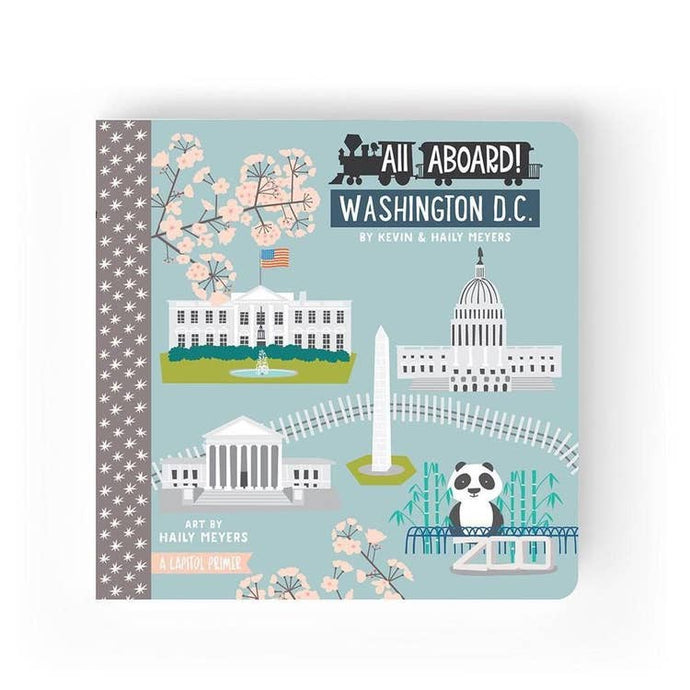 ALL ABOARD DC - board book