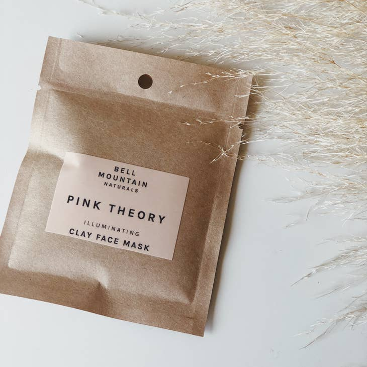 PINK THEORY CLAY FACE MASK