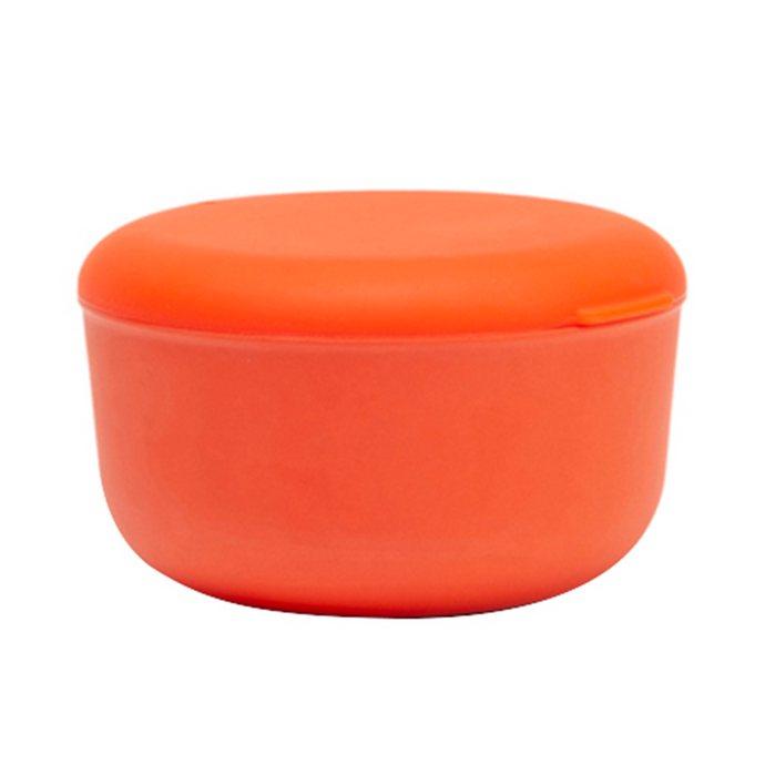STORE & GO BAMBOO CONTAINER 25 oz - persimmon