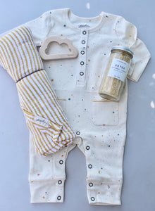 BABY GIFT SET - yellow