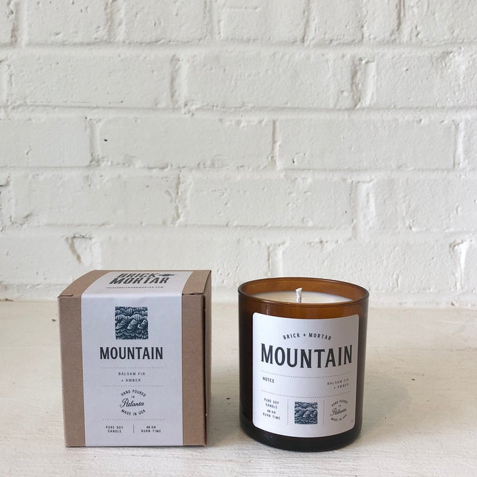 MOUNTAIN CANDLE