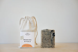 BAR SOAP - morning ritual
