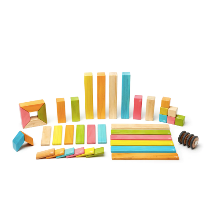 42-PIECE TEGU BLOCKS