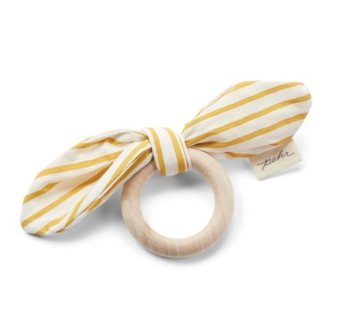 BOW TEETHER - marigold