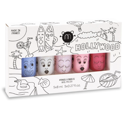 NAIL POLISH SET - hollywood