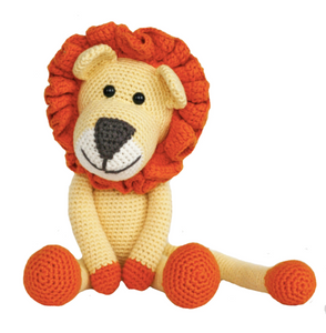 BEBEMOSS STUFFED ANIMAL - Lion