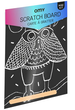 Load image into Gallery viewer, SCRATCH POSTCARD - Owl