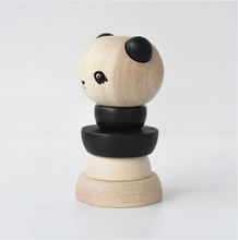 Load image into Gallery viewer, WOOD STACKER - Panda