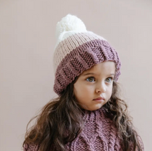Load image into Gallery viewer, TRICOLOR BEANIE - Pink