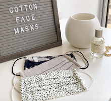 Load image into Gallery viewer, COTTON FACE MASK - 3 Piece Set