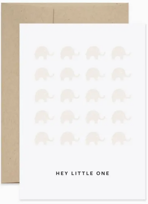 CARD - Hey Little One