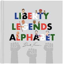 Load image into Gallery viewer, LIBERTY LEGENDS ALPHABET BOOK