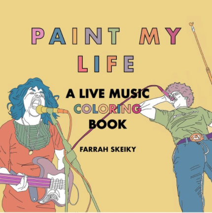 ACTIVITY BOOK - PAINT MY LIFE