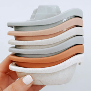 STACKABLE BATH BOAT SET