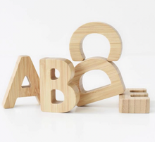 Load image into Gallery viewer, BAMBOO ALPHABET SET